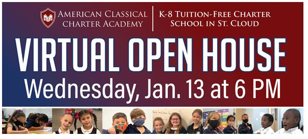 Virtual Open House for American Classical Charter Academy