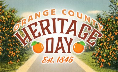 Orange County Heritage Day Offers Free Event at the History Center