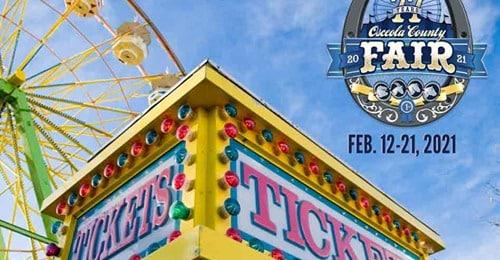2021 Osceola County Fair Opens February 12th