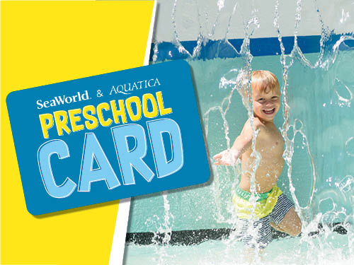SeaWorld, Busch Gardens and Aquatica Preschool Pass is Available Now