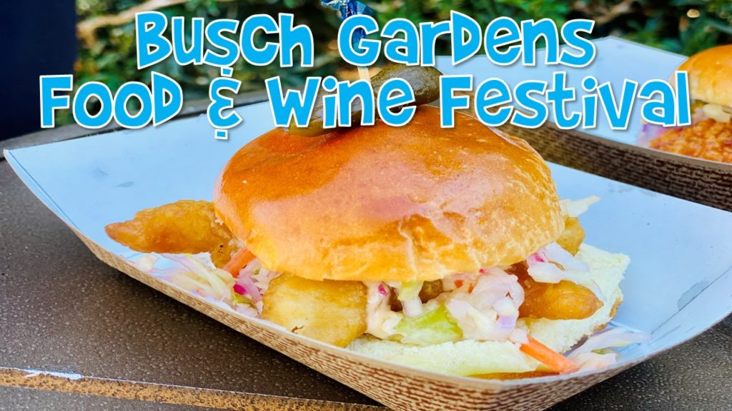 Busch Gardens Food and Wine Festival 2021 Family Video Review