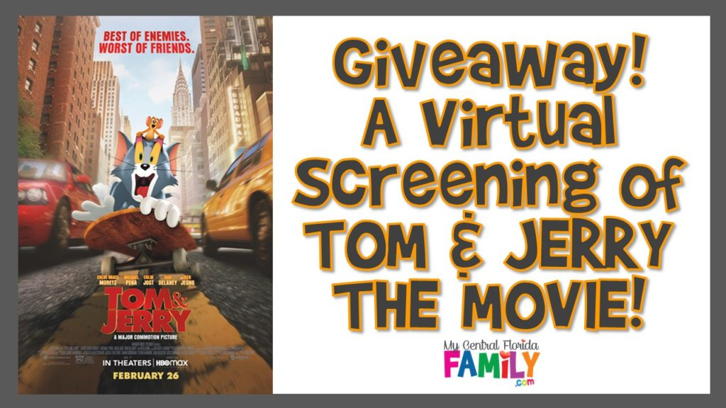 Giveaway: Win a Virtual Viewing of TOM & JERRY THE MOVIE