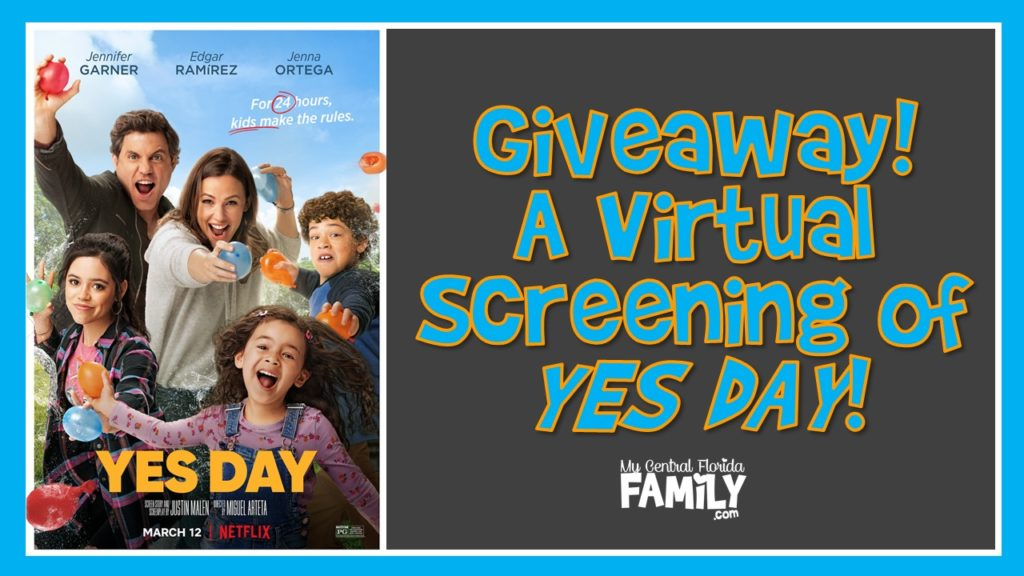 Giveaway: Win a Virtual Viewing of YES DAY