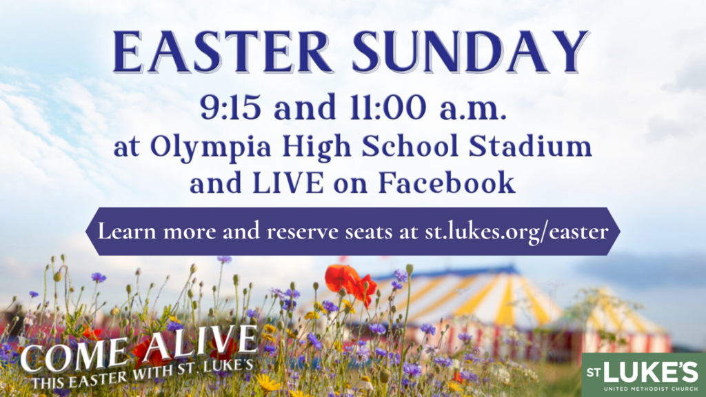 Outdoor Easter Worship Experience with St. Luke's
