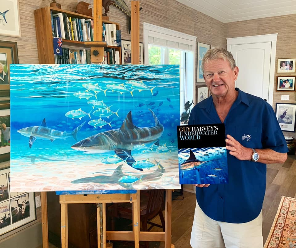 Guy Harvey at Busch Gardens to Debut New Book and Safely Greet Guests