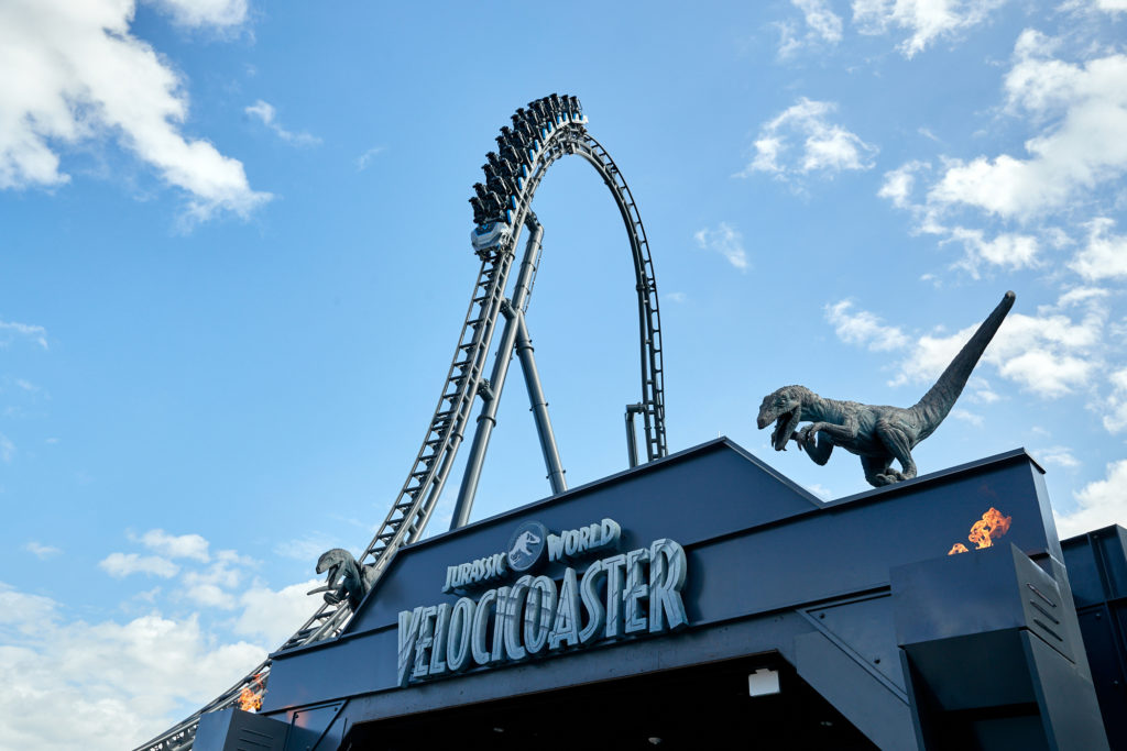 Jurassic World Velocicoaster To Open at Universal Orlando Resort in June 2021