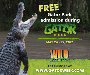 Wild Florida Offers Free Park Admission