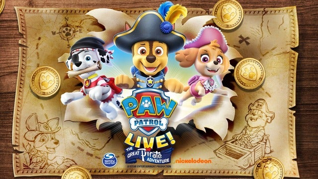 Paw Patrol Live Comes to Orlando in 2021