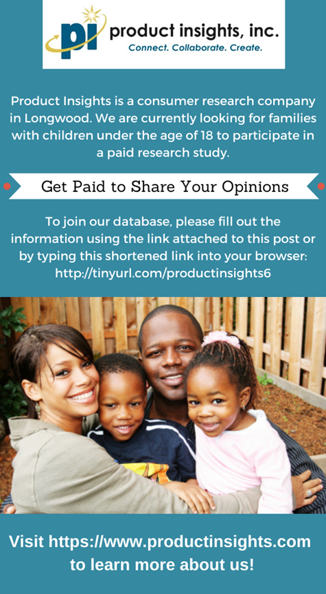 Product Insights Pays Parents for Opinions