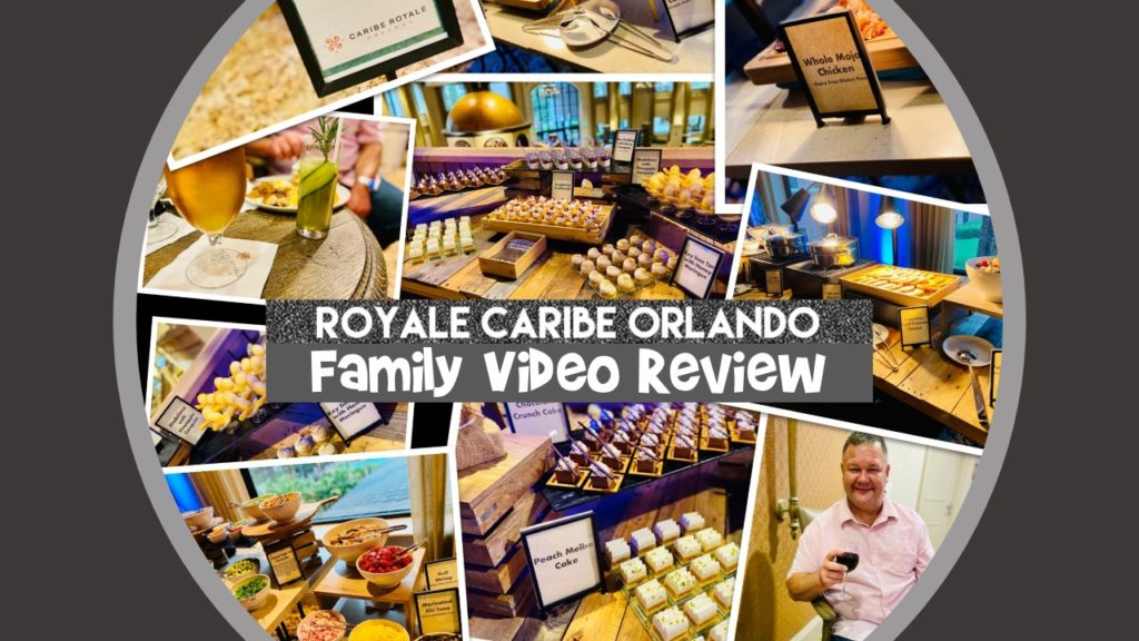 Caribe Royale Orlando Family Video Review