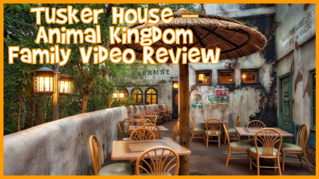 Animal Kingdom Tusker House Family Video Review