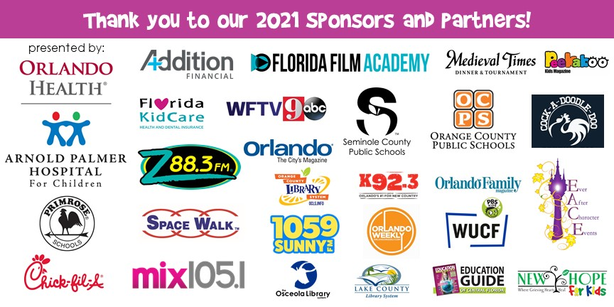 Florida Kids and Family Expo 2021 Sponsors Announced