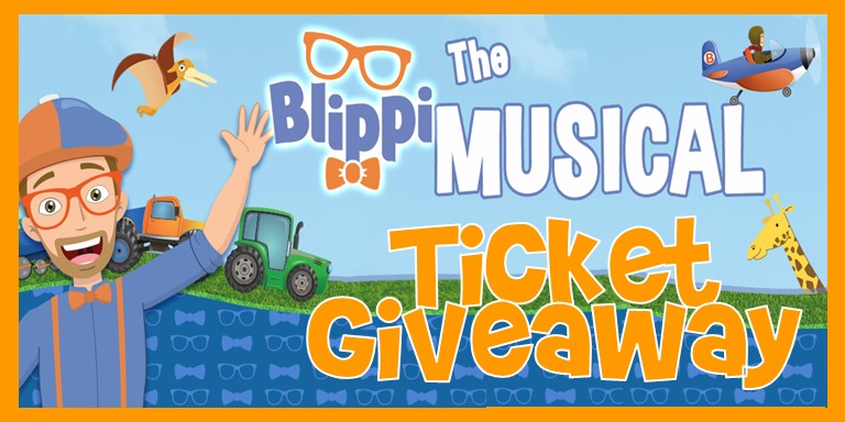 Blippi the Musical Ticket Giveaway