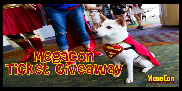 MegaCon Ticket Giveaway 2021