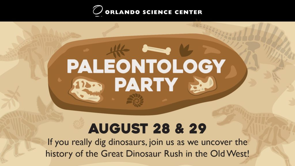 Paleontology Month at Orlando Science Center