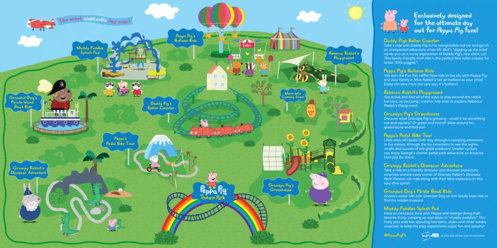 Peppa Pig Theme Park Details