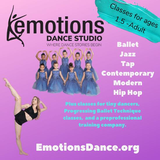 Emotions Dance Registration Opens