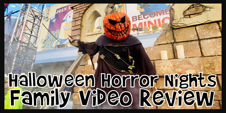 Halloween Horror Nights Family Video Review 2021