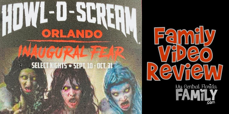 SeaWorld Howl-O-Scream Family Video Review