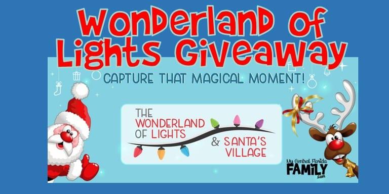 Wonderland of Lights Ticket Giveaway 2021
