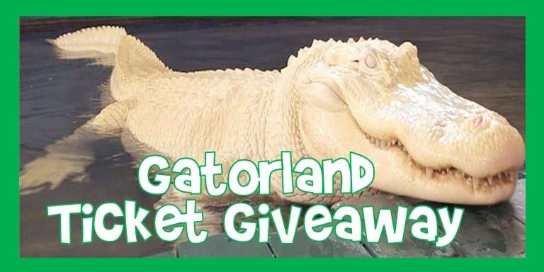 Gatorland Ticket Giveaway
