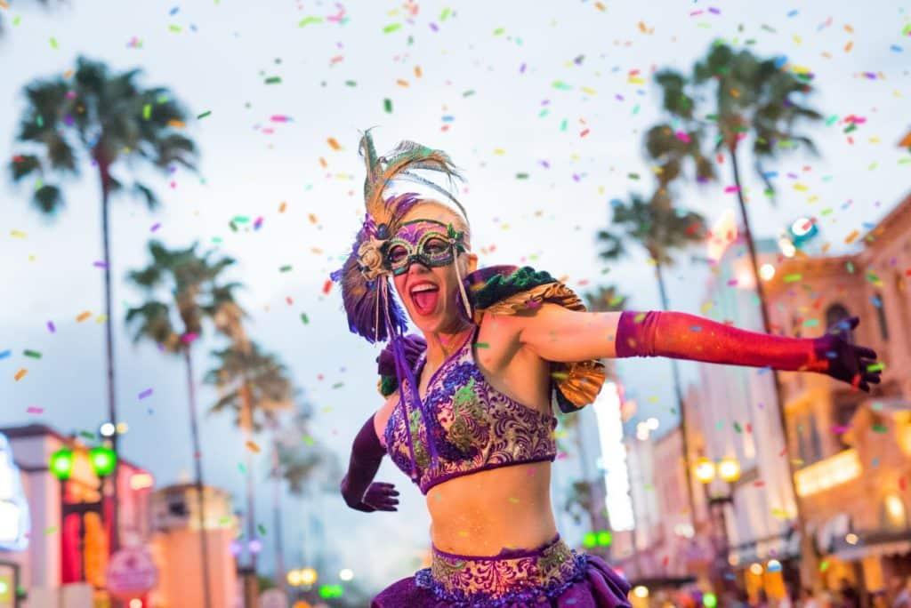 Universal Orlando Mardi Gras 2022
